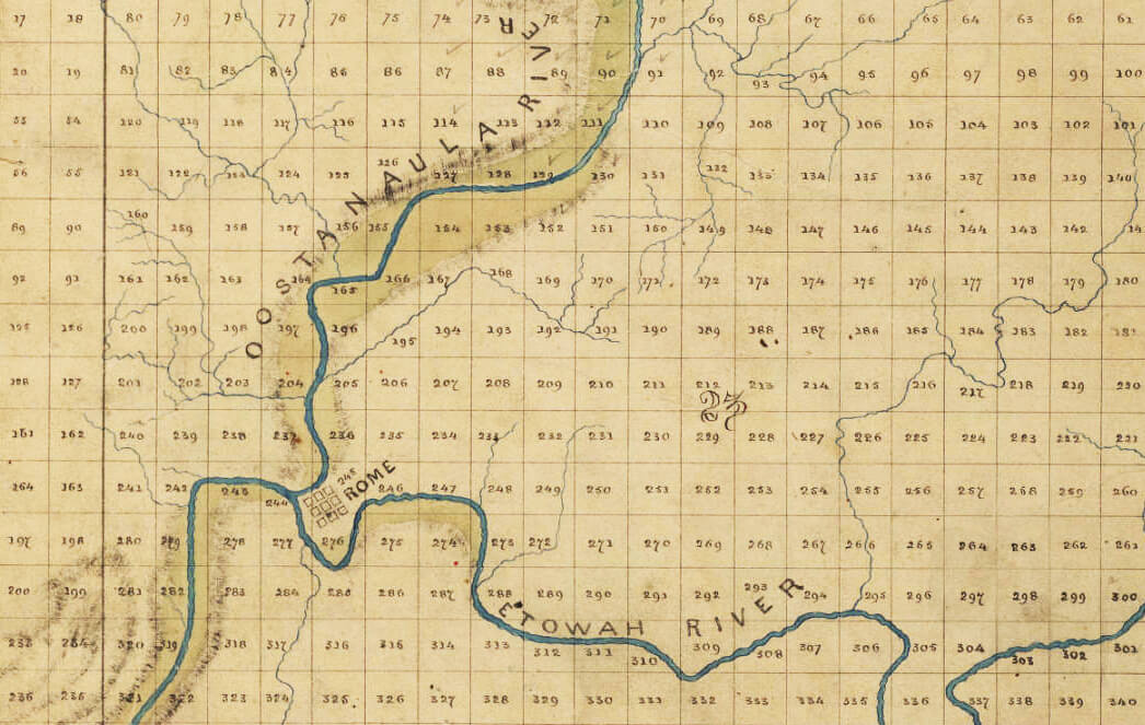 All Roads Led From Rome Facing The History Of Cherokee Expulsion Southern Spaces