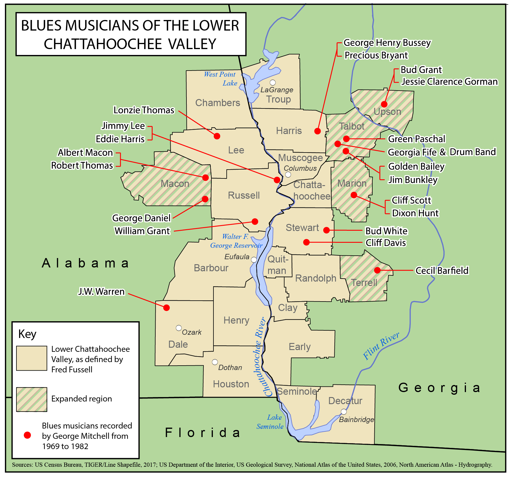 Blues In The Lower Chattahoochee Valley Southern Spaces